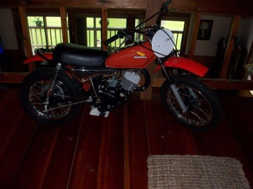 1974 Honda MR50 ELSINORE Red photo